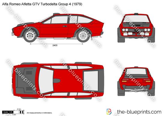 Alfa Romeo Alfetta GTV Turbodelta Group 4