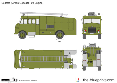 Bedford (Green Godess) Fire Engine