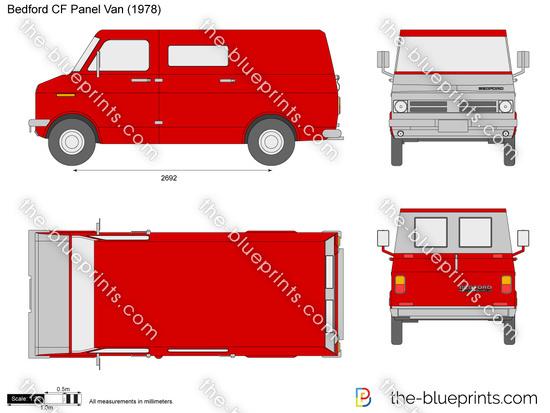 Bedford CF Panel Van