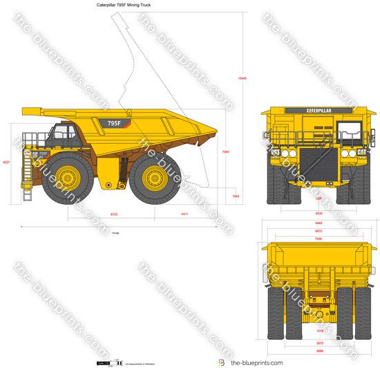 Caterpillar 795F Mining Truck