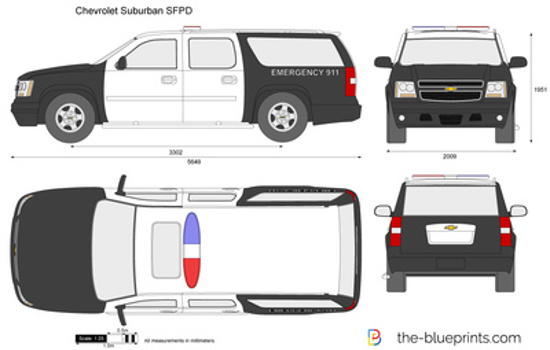 Chevrolet Suburban SFPD
