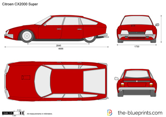 Citroen CX2000 Super