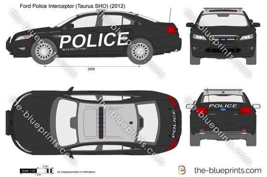 Ford Police Interceptor (Taurus SHO)