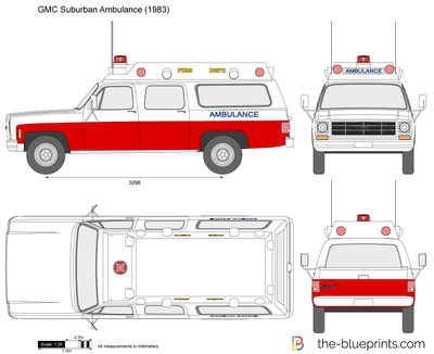 GMC Suburban Ambulance