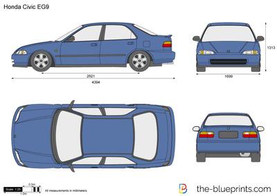 Honda Civic Coupe EG9