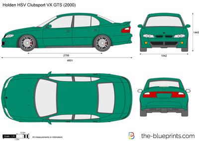 Holden HSV Clubsport VX GTS