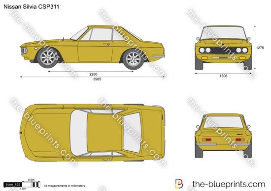 Nissan Silvia CSP311