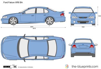 Ford Falcon XR6 BA