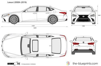 Lexus LS500h (2019)