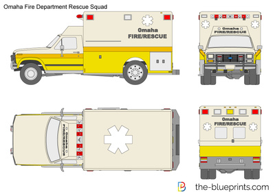 Omaha Fire Department Rescue Squad