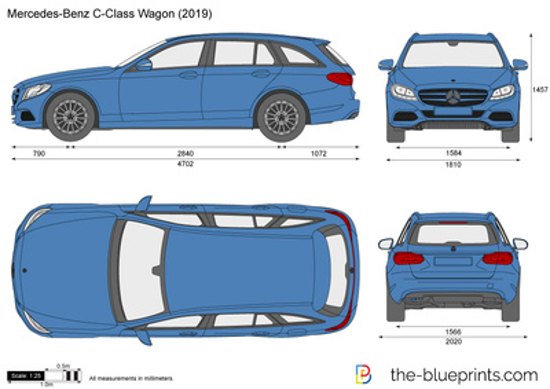 Mercedes-Benz C-Class Wagon W205