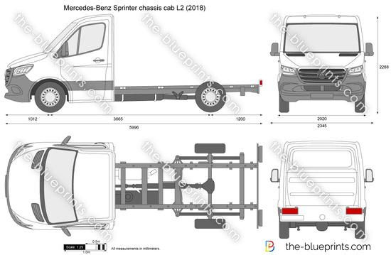Mercedes-Benz Sprinter chassis cab L2