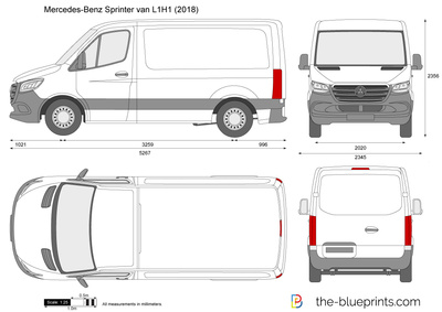 Mercedes-Benz Sprinter van L1H1