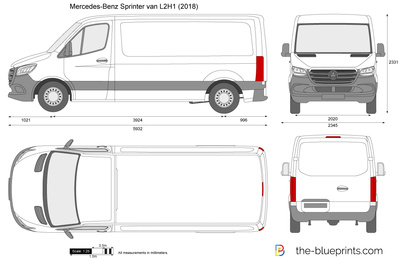 Mercedes-Benz Sprinter van L2H1