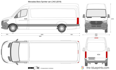 Mercedes-Benz Sprinter van L3H2