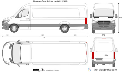Mercedes-Benz Sprinter van L4H2