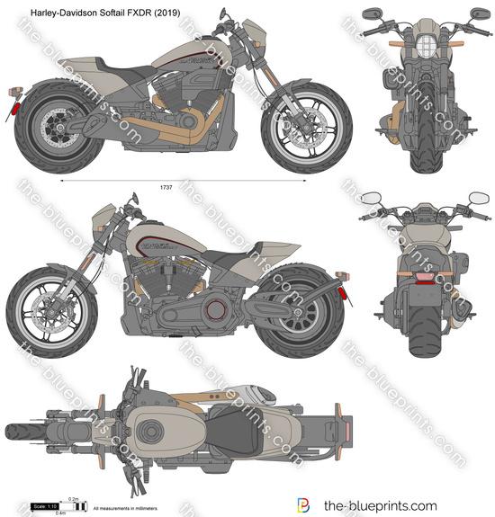 Harley-Davidson Softail FXDR
