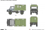 Mercedes Unimog Military Ambulance