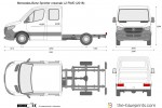 Mercedes-Benz Sprinter crewcab L2 RWD