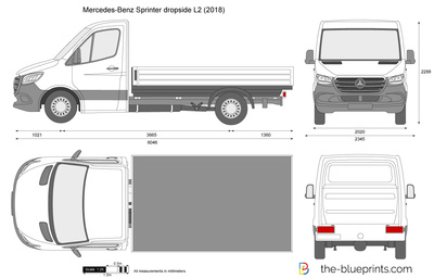 Mercedes-Benz Sprinter dropside L2