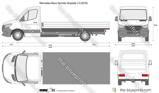 Mercedes-Benz Sprinter dropside L3