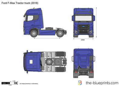 Ford F-Max Tractor truck