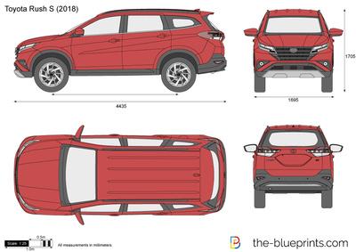 Toyota Rush S