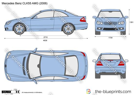 Mercedes Benz CLK55 AMG C209