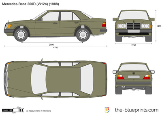 Mercedes-Benz 200D W124