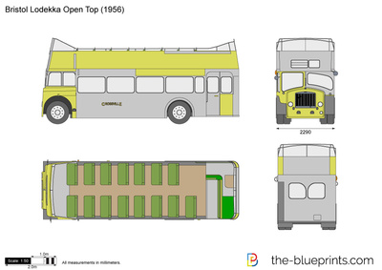 Bristol Lodekka Open Top