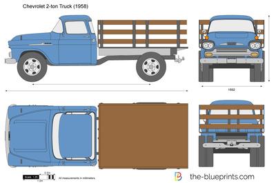Chevrolet 2-ton Truck (1958)