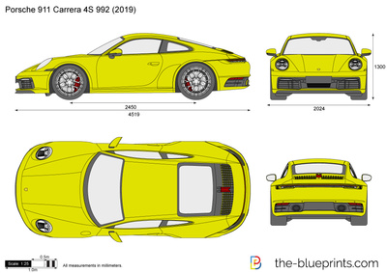 Porsche 911 Carrera S 992