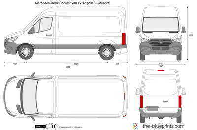 Mercedes-Benz Sprinter van L2H2