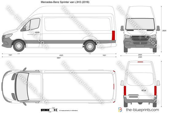 Mercedes-Benz Sprinter van L3H3