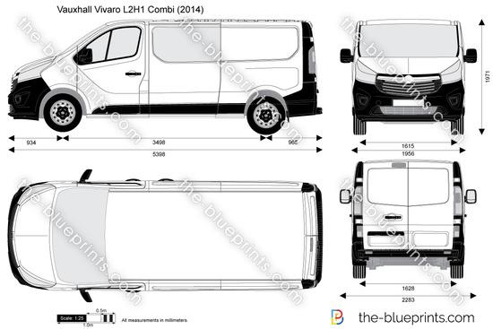 Vauxhall Vivaro L2H1 Combi