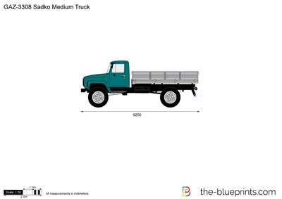GAZ-3308 Sadko Medium Truck