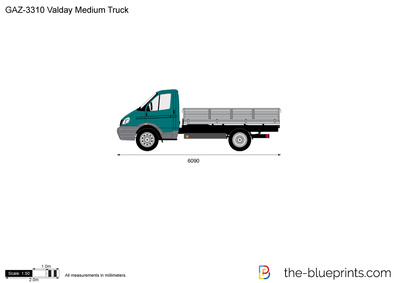 GAZ-3310 Valday Medium Truck