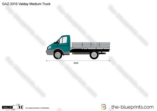GAZ-3310 Valday Medium Truck