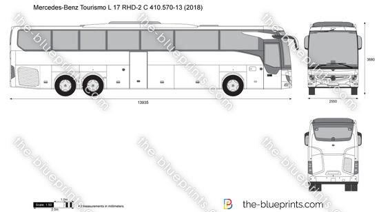 Mercedes-Benz Tourismo L 17 RHD-2 C 410.570-13