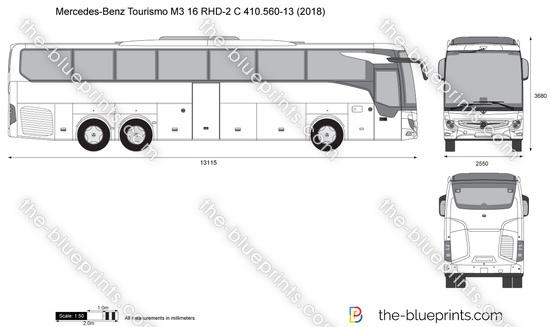 Mercedes-Benz Tourismo M3 16 RHD-2 C 410.560-13