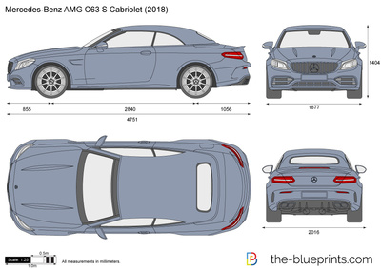 Mercedes-Benz AMG C63 S Cabriolet