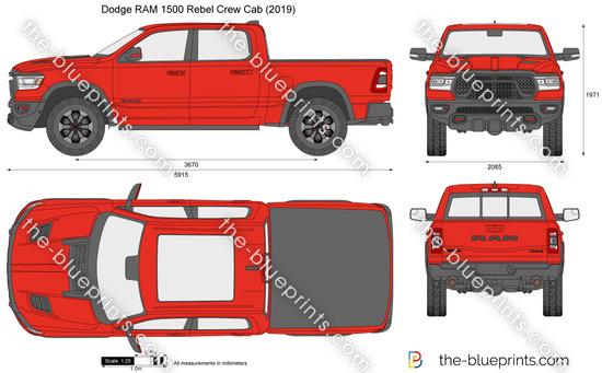 Dodge RAM 1500 Rebel Crew Cab