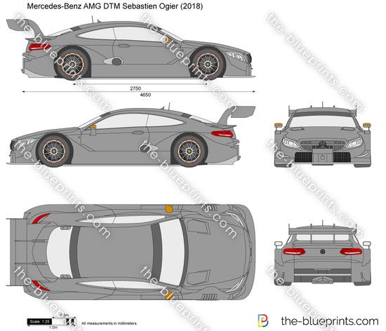 Mercedes-Benz AMG DTM Sebastien Ogier