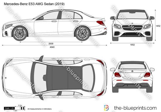 Mercedes-Benz E53 AMG Sedan