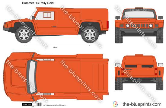 Hummer H3 Rally Raid