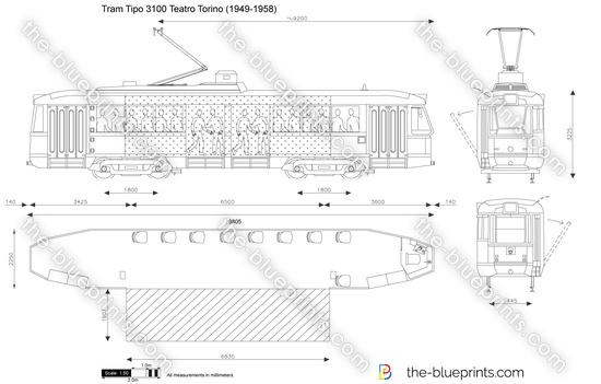 Tram Tipo 3100 Teatro Torino