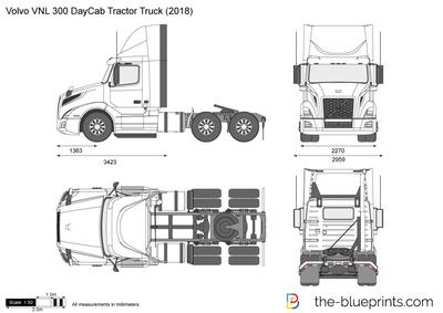 Volvo VNL 300 DayCab Tractor Truck (2018)