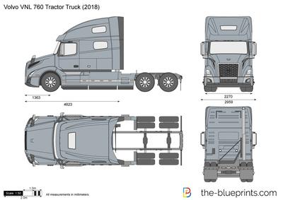 Volvo VNL 760 Tractor Truck