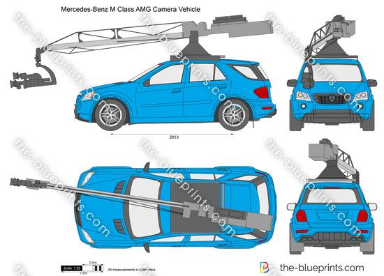 Mercedes-Benz M Class AMG Camera Vehicle