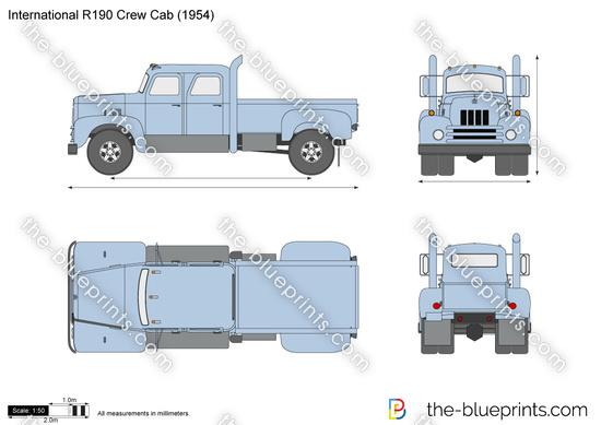 International R190 Crew Cab